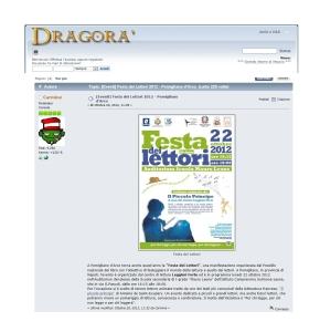 ARTICOLO FESTA DEI LETTORI 2012