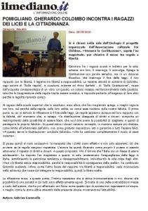 ARTICOLO GHER COLOMBO IL MEDIANO