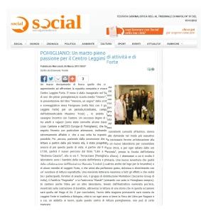 ARTICOLO PAVIGNANO SOCIAL