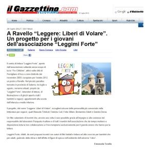 ARTICOLO RAVELLO IL GAZZETTINO
